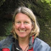 Alyson Hallett, writer in residence during august